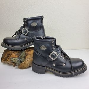 Harley davidson faded  glory western  moto boot